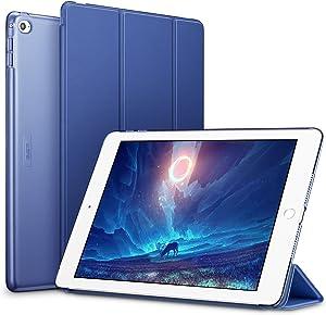 ESR Custodia per iPad Air 2, Ultra Sottile e Leggere, Slim Smart Case Cover Magnetico con la Funzione Auto Sleep per Apple iPad Air 2 9.7 Pollici Uscito a 2014 (Modello A1566, A1567).(BLU)