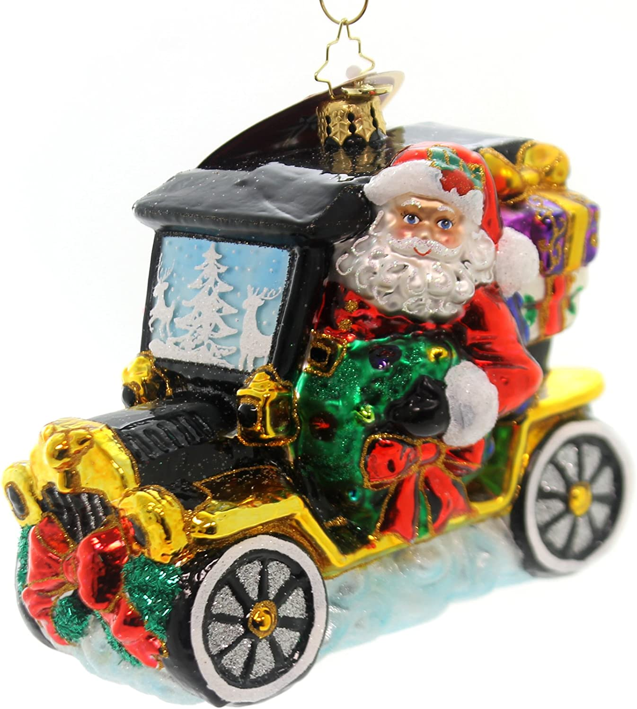 Christopher Radko Joyful Ride Christmas Ornament