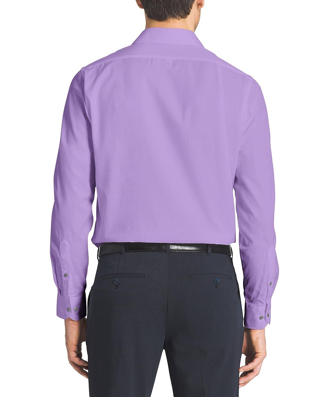 Van Heusen Mens Pincord Regular Fit Solid Spread Collar Dress ...