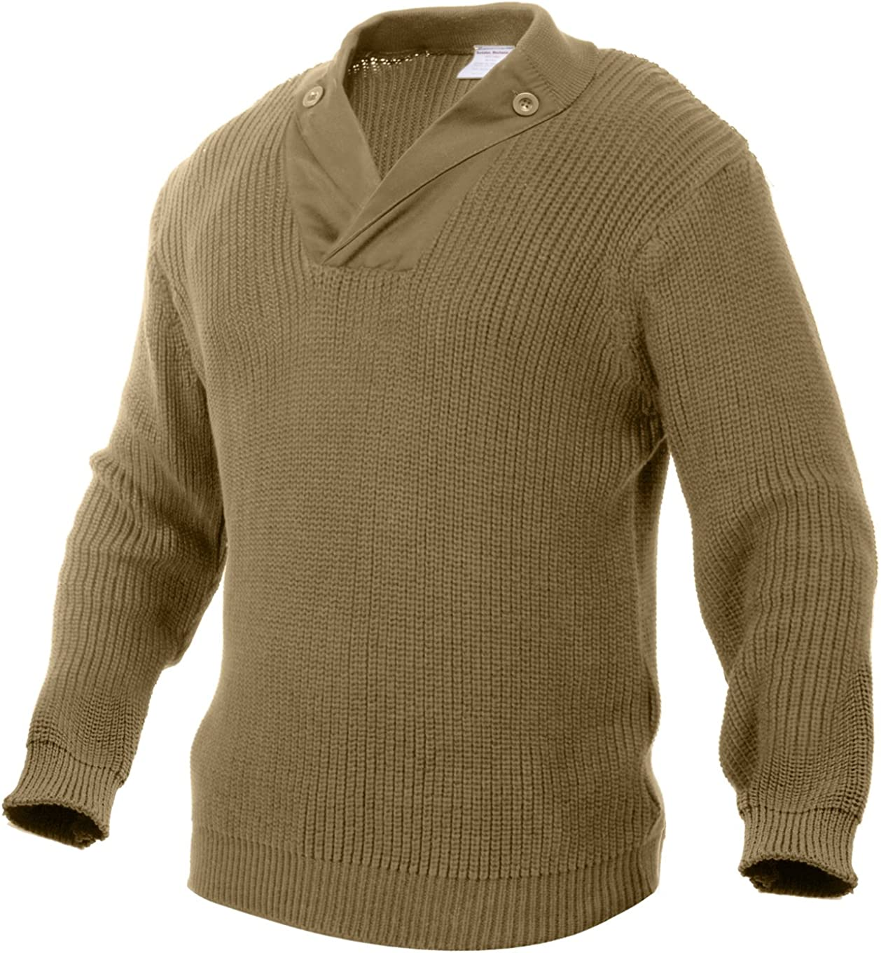 Men's Vintage Sweaters, Retro Jumpers 1920s to 1980s Rothco WWII Vintage Mechanics Sweater $55.99 AT vintagedancer.com