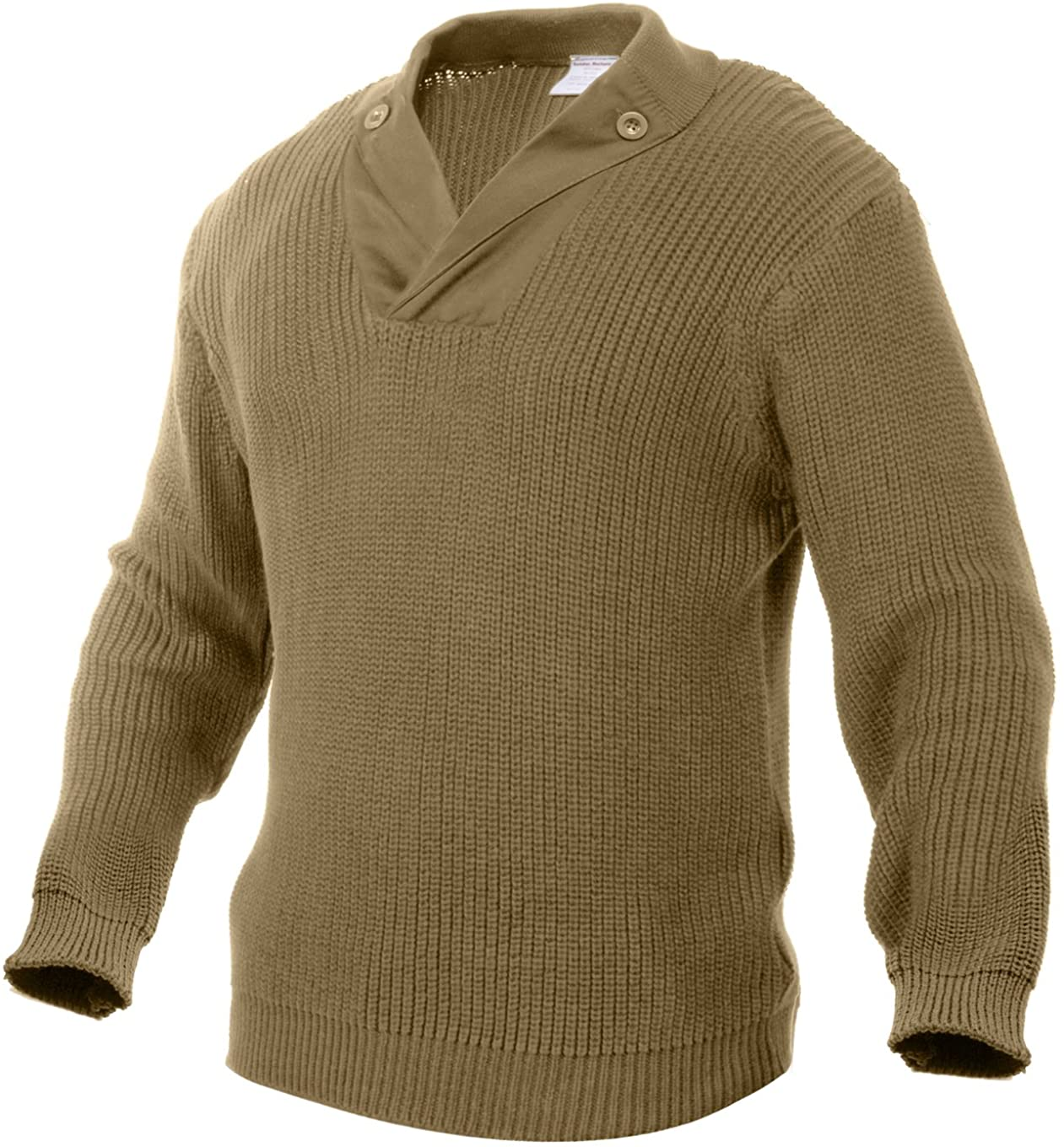 1940s Men's Shirts, Sweaters, Vests Rothco WWII Vintage Mechanics Sweater $55.99 AT vintagedancer.com