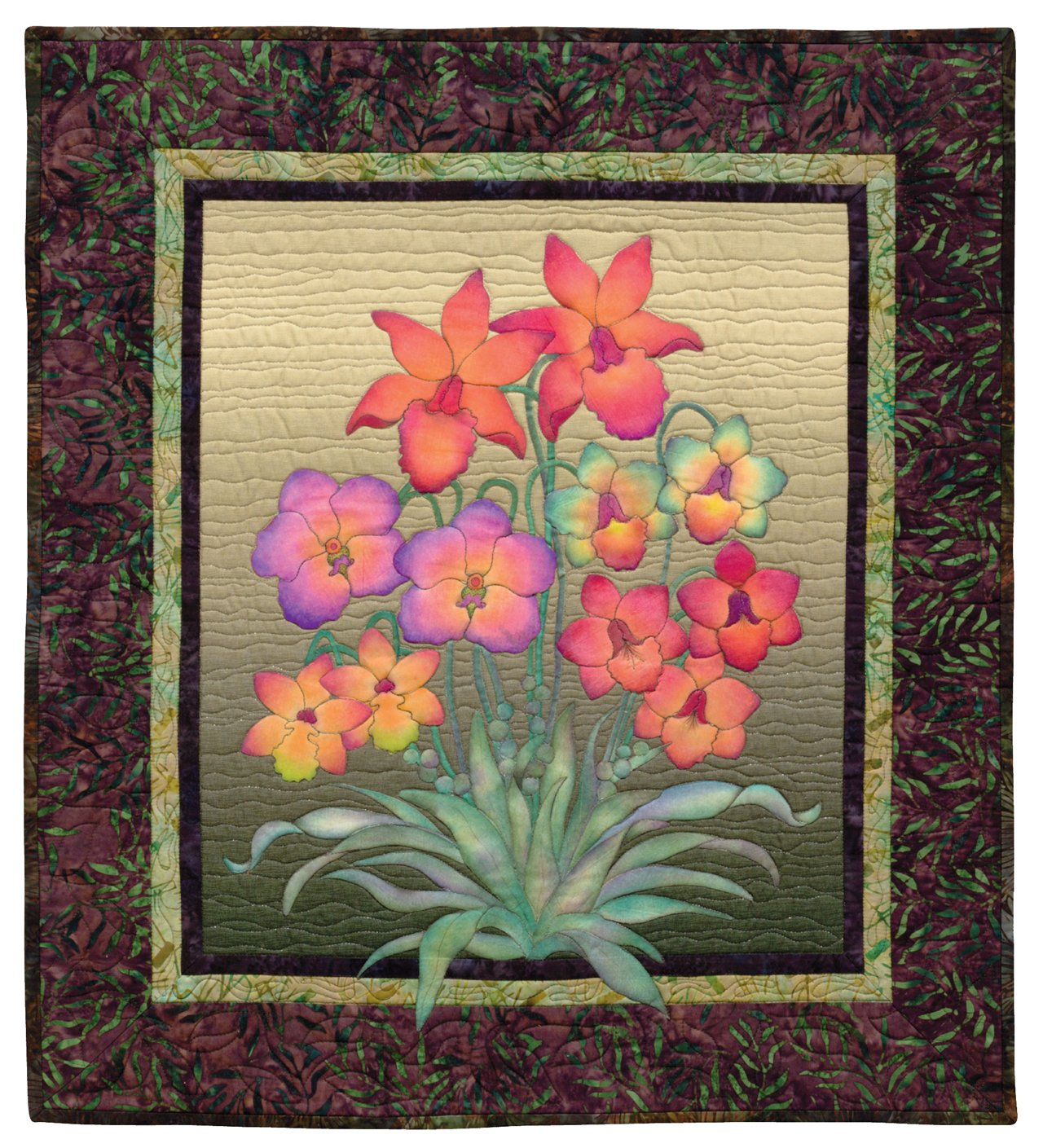Creative Quilts from Your Crayon Box: Melt-n-Blend Meets Fusible Applique by That Patchwork Place (Image #8)
