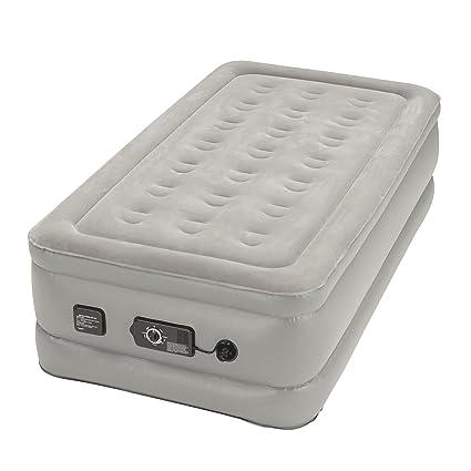 Amazon.com: Insta Bed Raised Air Mattress with Neverflat Pump