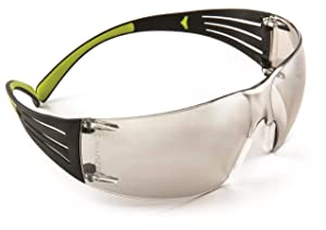 3M Securefit SF410AS Mirror Polycarbonate Standard Safety Glasses - 99.9% UV Protection - Wrap Around Frame - 70071650975 [PRICE is per EACH]