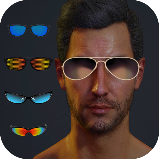 Sunglass Photo Maker : Man and - Choosing Sunglasses