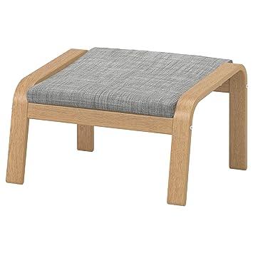 Ikea sessel isunda grau  Amazon.de: IKEA POÄNG - Fußbank Eiche furniert/isunda grau