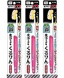 歯ブラシ革命 魔法ミガキくるりん MM-150 ピンク 3本セット