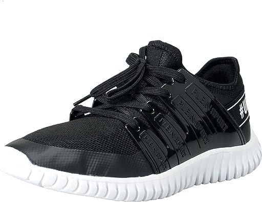 Black Runner Fashion Sneakers Shoes Sz