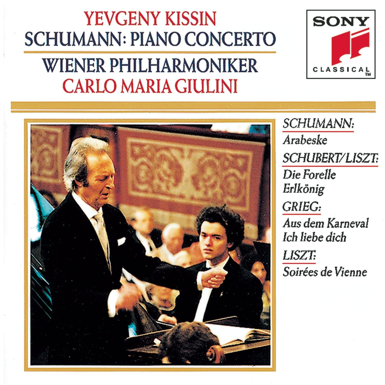 Schumann: Piano Concerto; Arabeske / Schubert / Liszt / Grieg