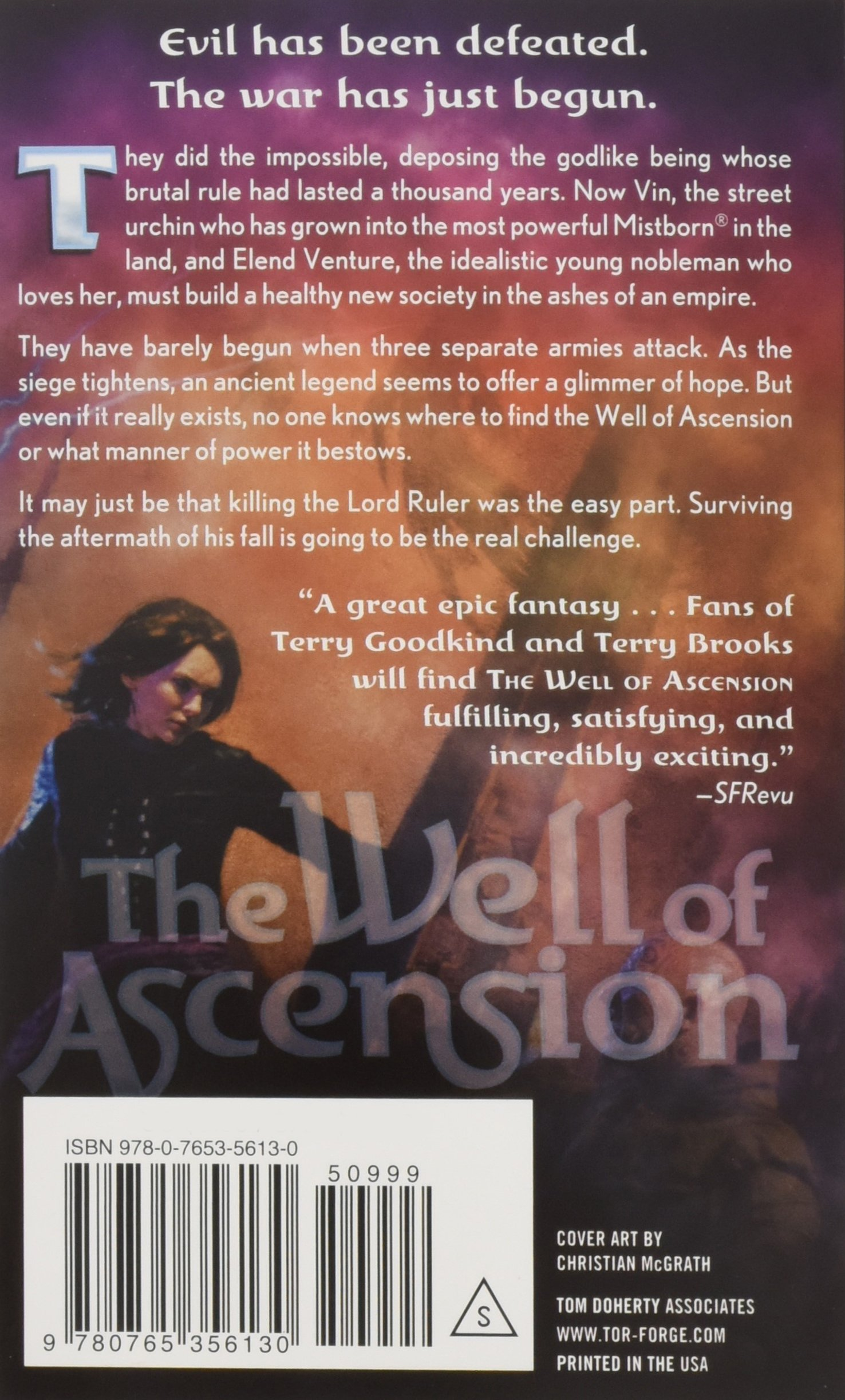 Buy The Well Of Ascension Book Two Of Mistborn Book Online At Low
