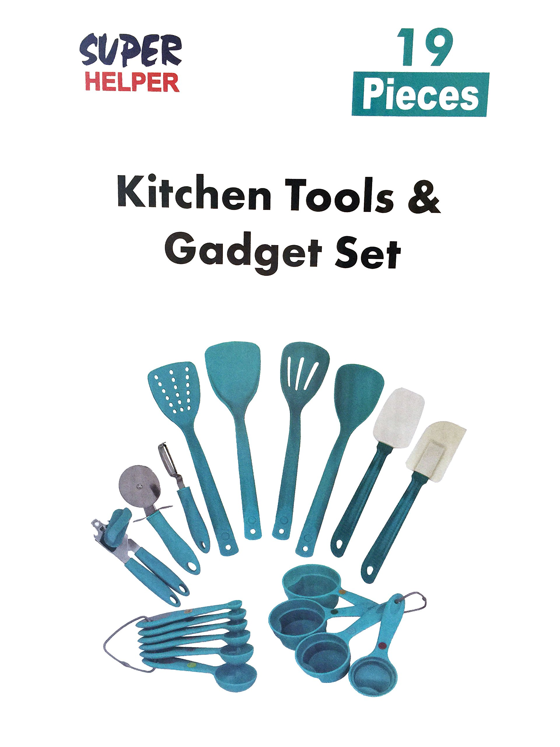 Kitchen Tools & Gadget Set-19 Pieces