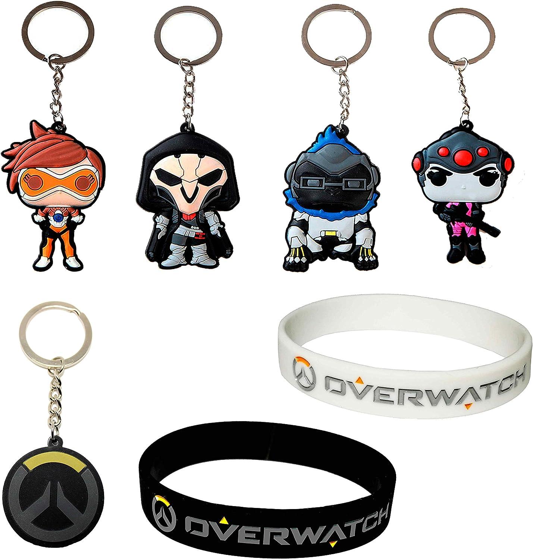 Overwatch Pack - Llaveros y pulseras - Reaper, Wilson, Tracer ...
