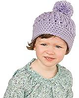 e6d503293e7 Melondipity Lavender Fields Pom Pom Baby Girl Hat - Premium Crochet Beanie