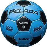 molten(モルテン) サッカーボール ペレーダ4000   4号 サックス×黒 F4P4000-CK