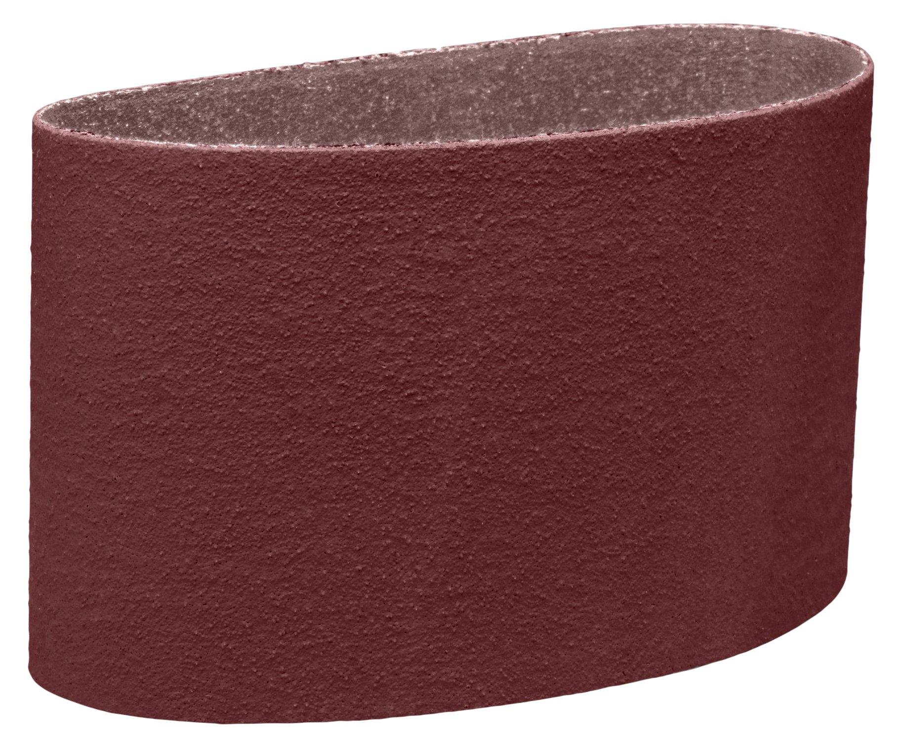 3M 27516-case Cloth Belt 341D, 24 X-Weight, 9'' x 138-1/2'', Aluminum Oxide, Brown (Pack of 10)