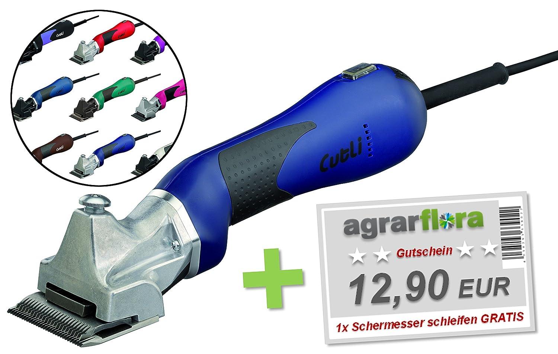 Lister Schermaschine Cutli für Pferde - Farbe nach Wahl + Gutschein: 1x Schermesser schleifen GRATIS