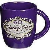 Laid Back CF12044 60th Birthday Vintage Vixen Ceramic Mug, 12-Ounce