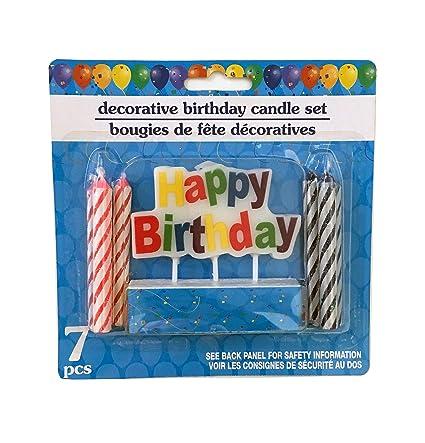 Velas de cumpleaños – velas de fiesta para cupcakes.: Amazon ...