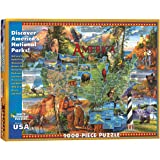 White Mountain Puzzles National Parks - 1000 Piece Jigsaw Puzzle