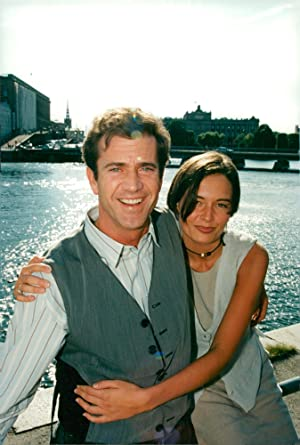 ea490785f1b Vintage photo of The actors Mel Gibson and Catherine Mc Cormack were in  Stockholm to promote