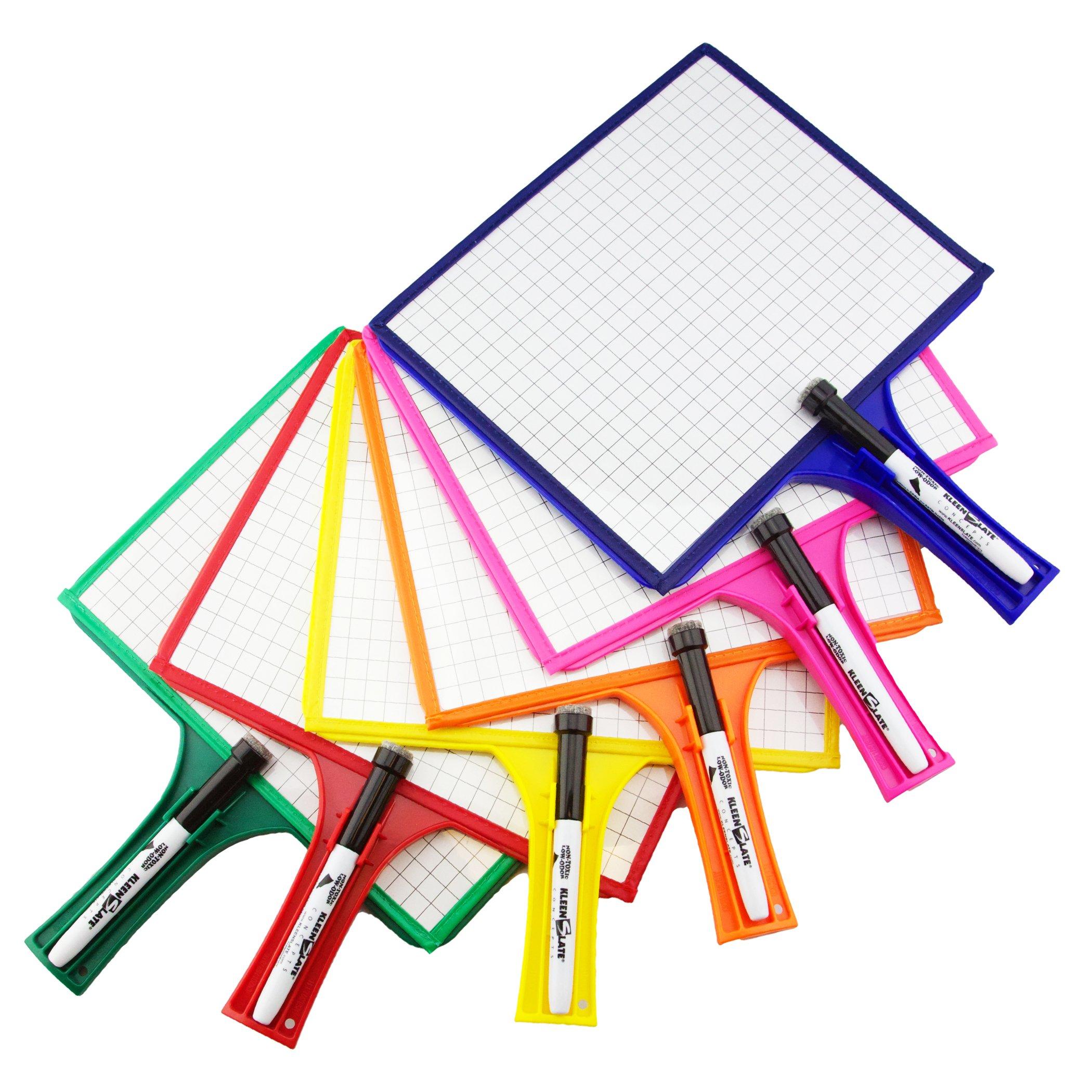 Set of 12 Customizable whiteboards w/Dry Erase Sleeve & Interchangeable Graphic Organizers + Bonus by KleenSlate (Image #3)
