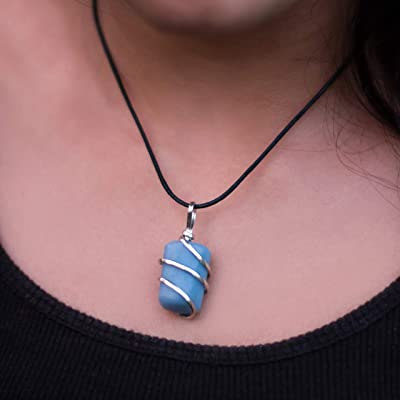 Mindfulness Gift Healing Stone Necklace Pink Opal Necklace For Emotional Healing /& Heart Opening