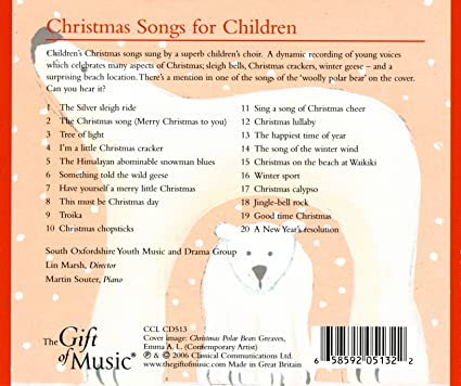 south oxfordshire youth music and drama group various lin marsh christmas songs for children amazoncom music - Children Christmas Songs