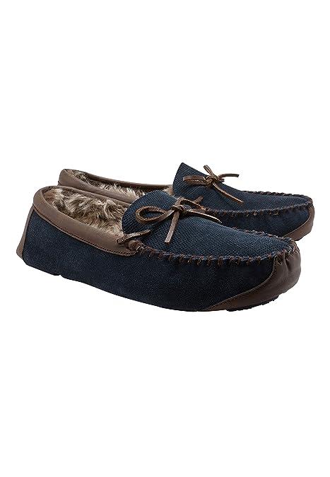 next Hombre Mocasines con Cordones Azul Marino 46 EU: Amazon.es: Zapatos y complementos