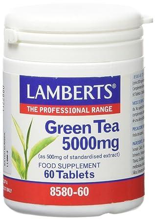 Lamberts Té Verde 5000mg - 60 Tabletas: Amazon.es: Salud y cuidado personal
