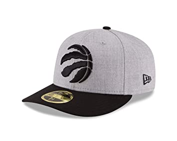 pretty nice b19d5 b4063 New Era Men s Low Profile Nba 59FIFTY Fitted Cap, Heather Gray, 6.875