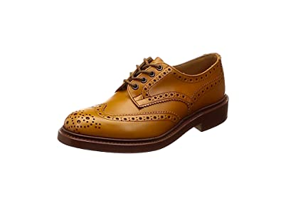 [トリッカーズ] Full Brogue Derby Shoe-Calf/Double Leather Sole BOURTON メンズ