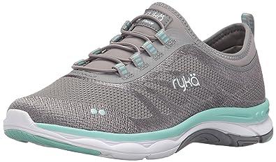 f1d06ea23621 Ryka Women s Fierce Walking Shoe Grey Mint 5.5 ...