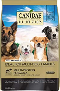 Canidae All Life Stages Dry Dog Food, Chicken, Turkey, Lamb and Fish Meals, 15lbs