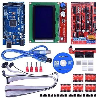Kuman - Kit de controlador de impresora 3D con tutorial para ...