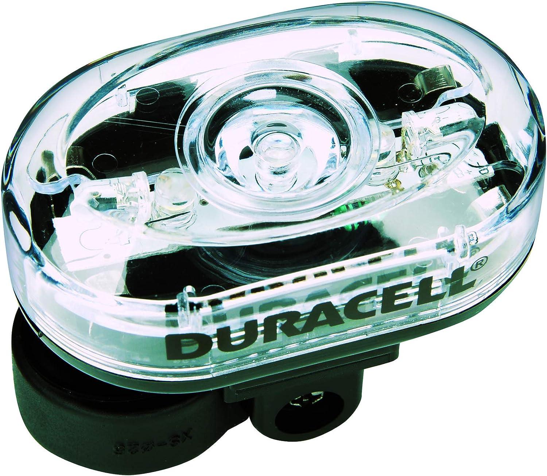 Duracell Bike Light F03 Lampe de v/élo Avant 5 LED avec Piles incluses