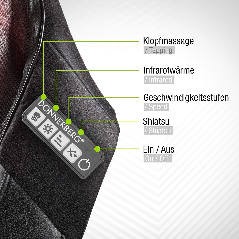 Bedienung Donnerberg NM088 Nackenmassagegerät