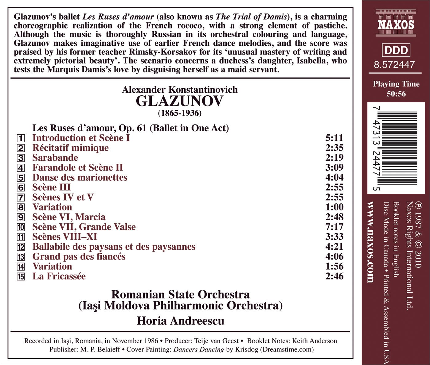 Orchestral Edition 19: Les Ruses D'amour