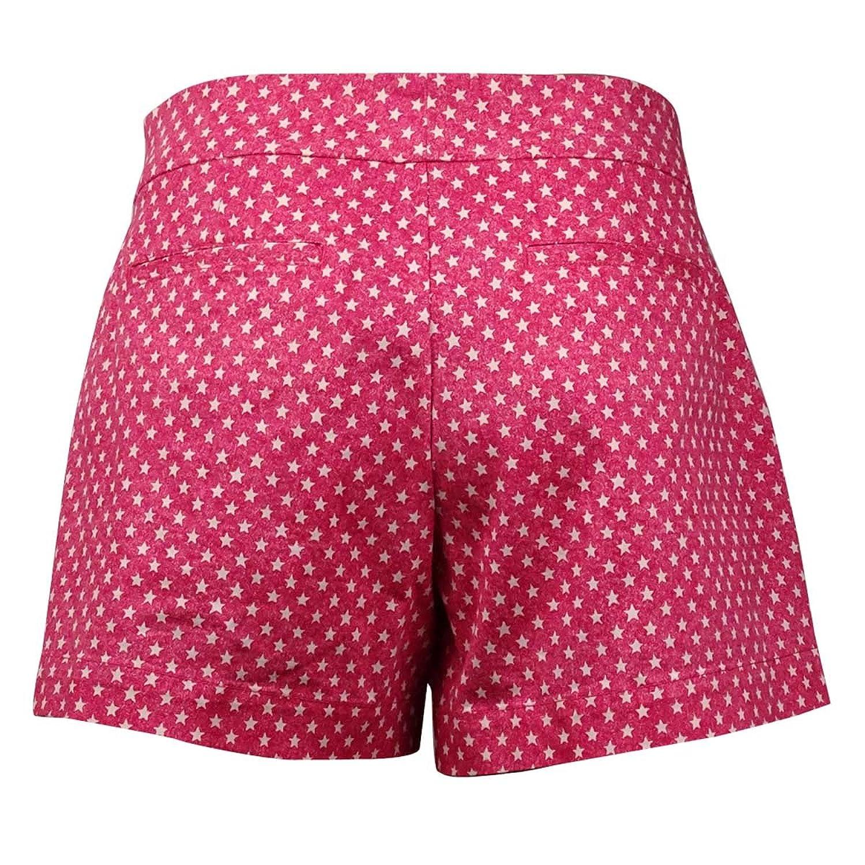 American Living Women's Star Print Cotton Blend Shorts
