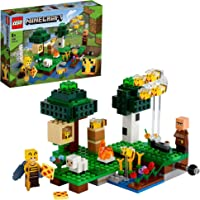 LEGO 21165 Minecraft De Bijenhouderij met Poppetjes, Bijen en Schapen, Constructiespeelgoed voor Kinderen vanaf 8 Jaar