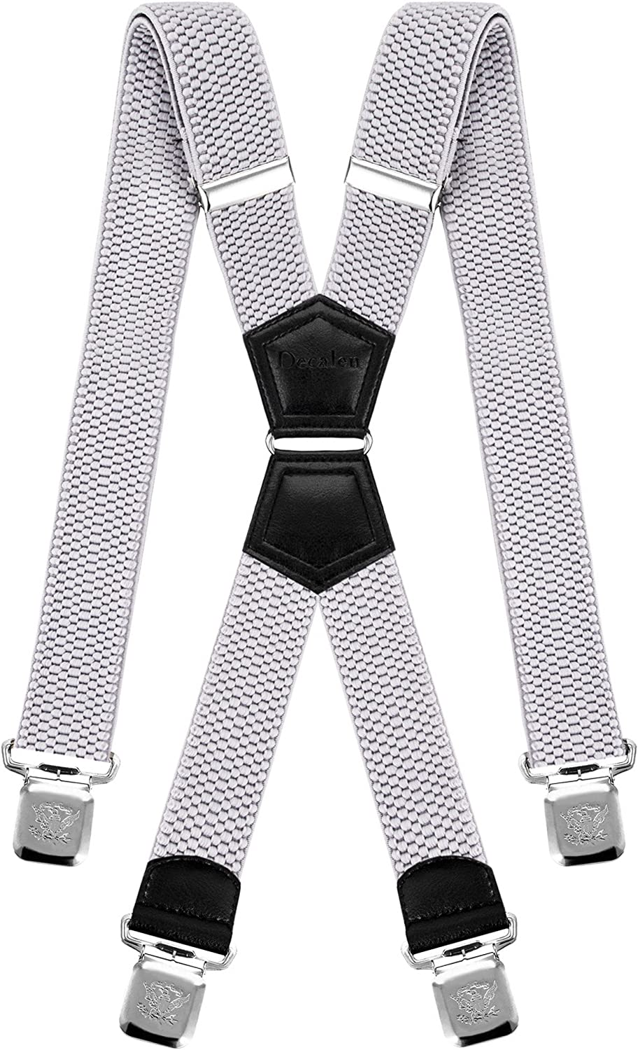 Mens Suspenders X Style Very Strong Clips Adjustable One Size Fits All  Heavy Duty Braces (Baby Blue) at Amazon Men's Clothing store