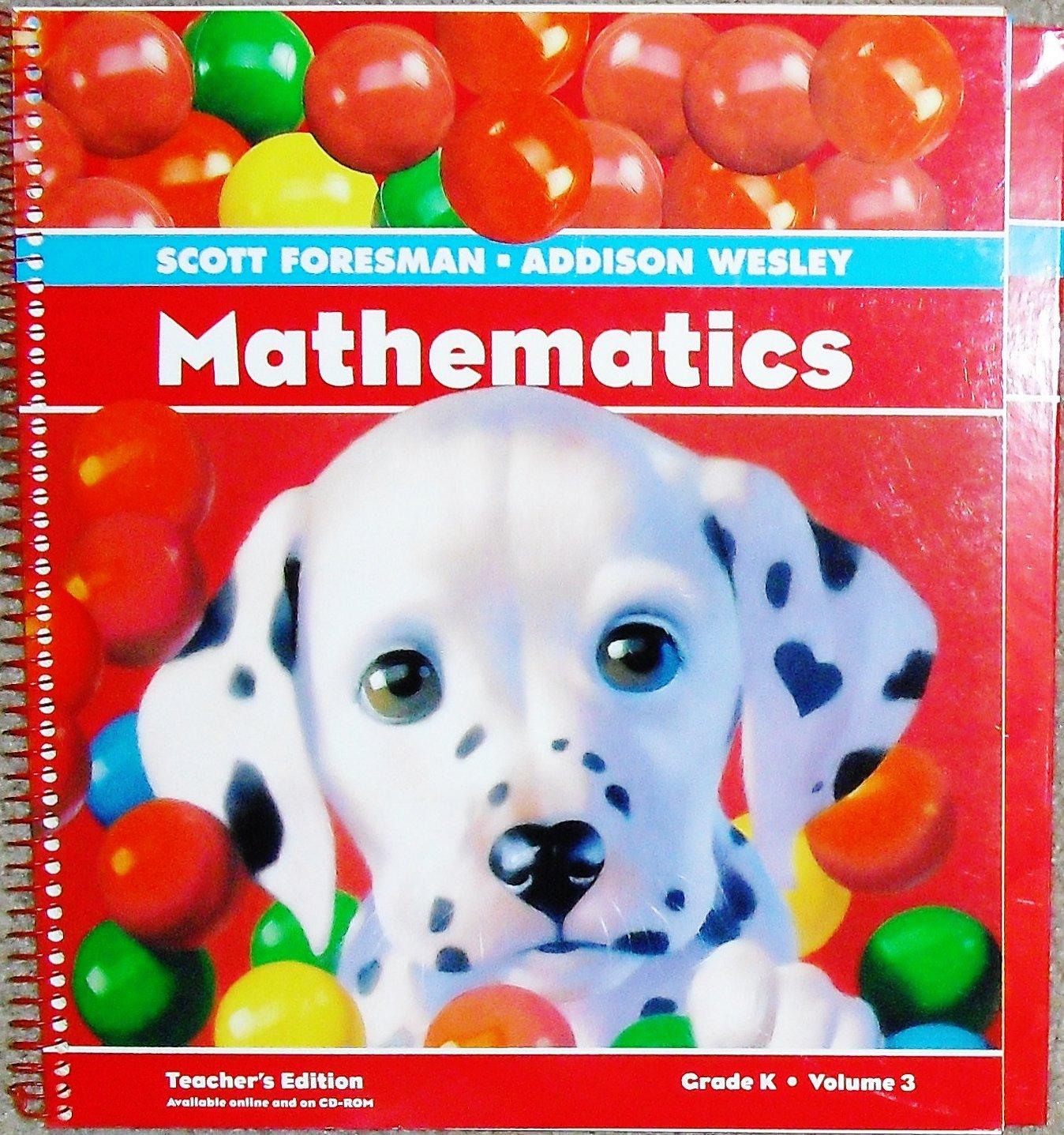 Download Scott Foresman Mathematics, Teacher's Edition, Grade K, Volume 3 (3) pdf epub