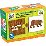 Mudpuppy Eric Carle Brown Bear Colors Pairs Puzzle (20 Piece)