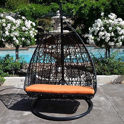 Amazon.com: 2 persona 418 libras Gorra Naranja Huevo Forma ...