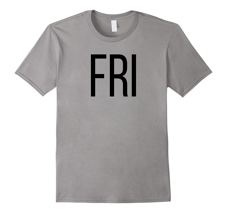 Friday T-Shirt Days of the Week T-Shirts, Costume, Shark Set-FL