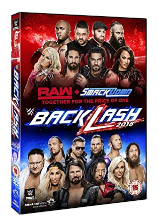 WWE: Backlash 2018 [DVD] [Reino Unido]: Amazon.es: AJ Styles, Samoa Joe, Shinsuke Nakamura, Roman Reigns, AJ Styles, Samoa Joe: Cine y Series TV