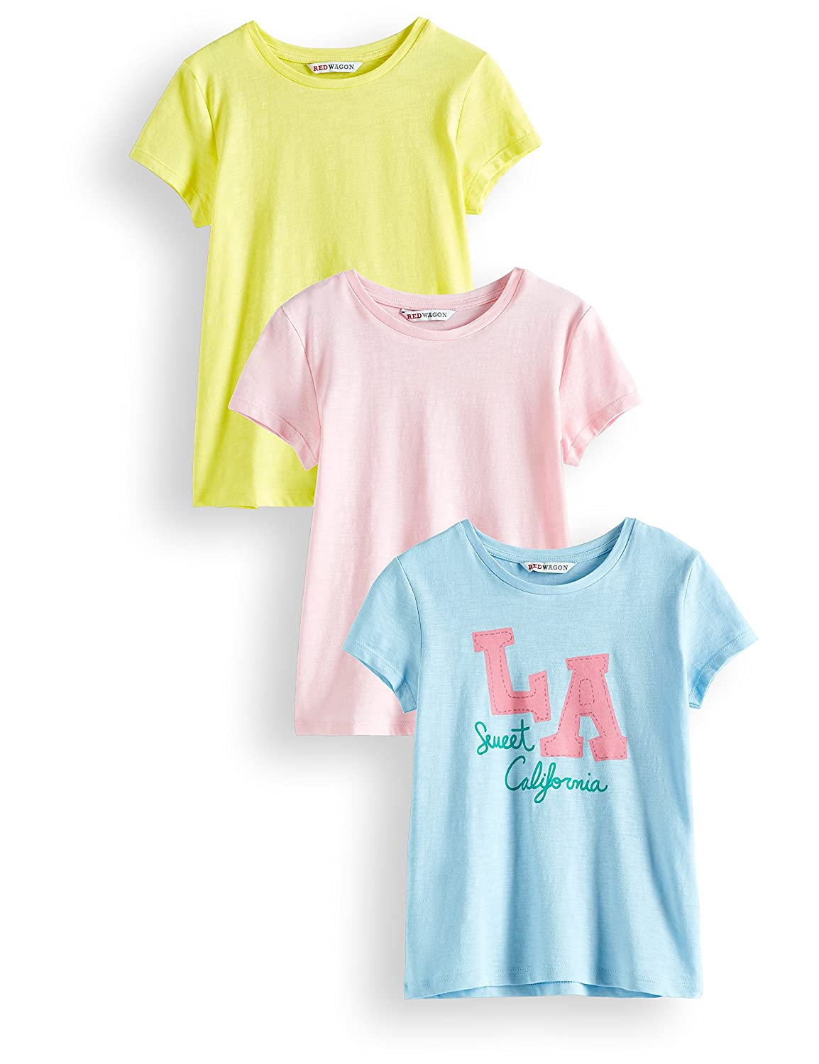Pack of 3 RED WAGON Girls T-shirt