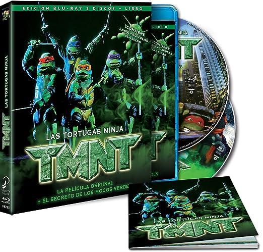 Las Tortugas Ninja. Las Películas Originales Blu-ray: Amazon ...