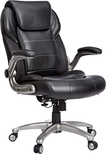 AmazonCommercial High-Back Bonded Leather Chair
