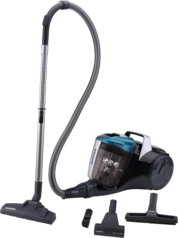 Hoover Breeze BR30 - Aspirador trineo sin bolsa con filtro EPA, especial para parquet y mascotas, tecnología ciclónica, 550 W, color azul: Hoover: Amazon.es: Hogar