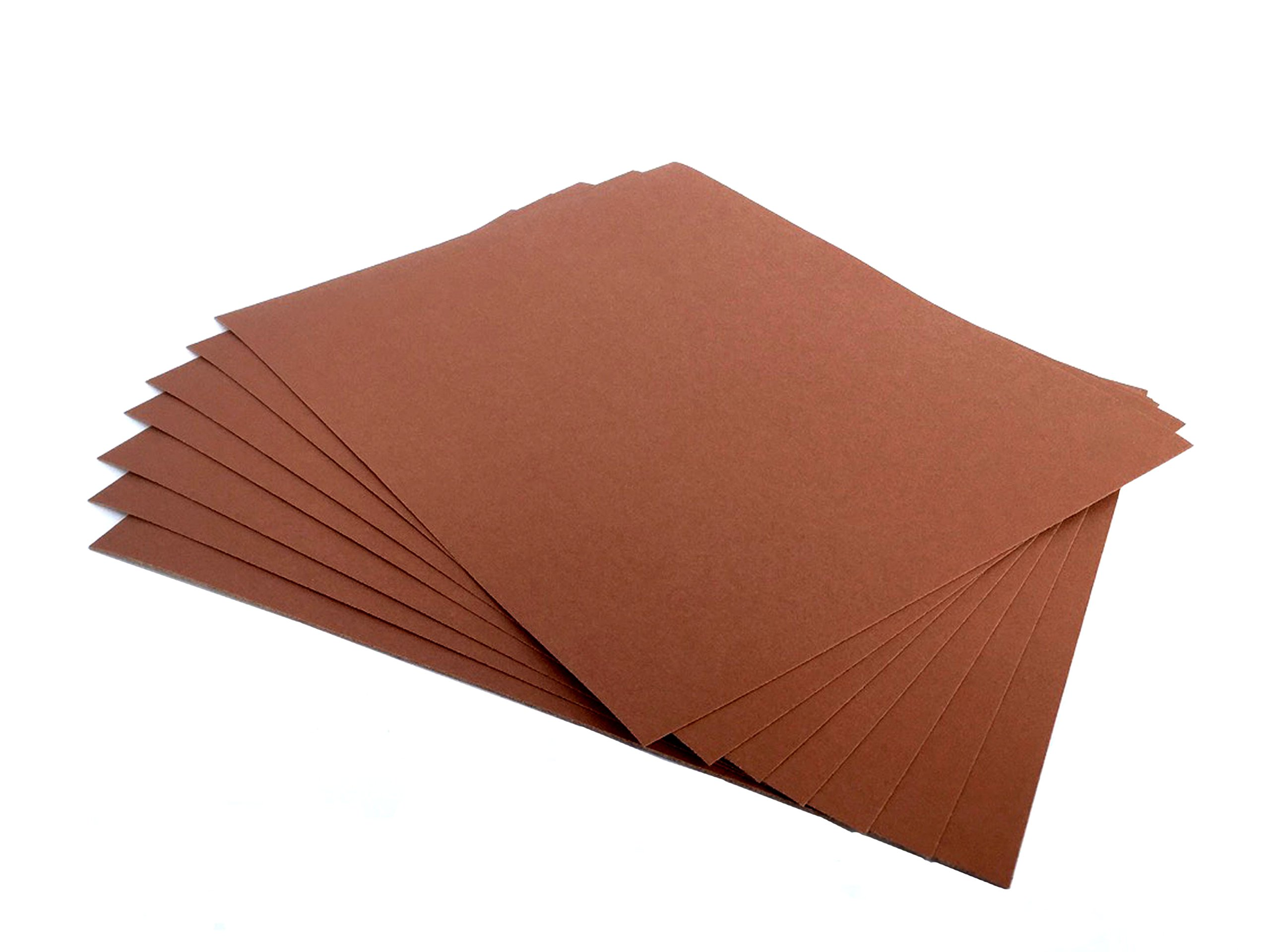Sandpaper 9 x 11 General Sanding Aluminum Oxide, 50 Pack (220 Grit)